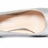 转让--38码银色婚鞋,闪闪的